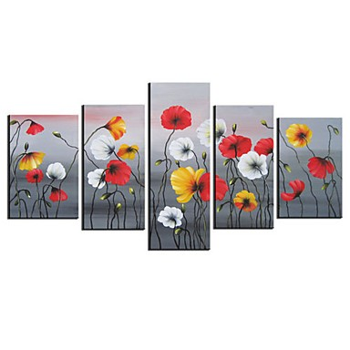/1033-1232/hand-painted-floral-oil-painting-with-stretched-frame-set-of-5.jpg