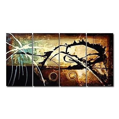 /1074-1375/hand-painted-abstract-oil-painting-with-stretched-frame-set-of-4.jpg