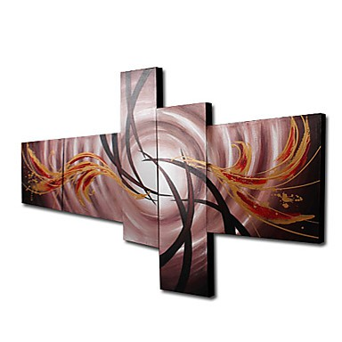 /1089-1429/hand-painted-landscapes-oil-painting-with-stretched-frame-set-of-5.jpg