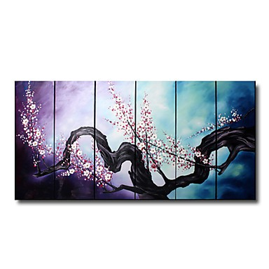 /1104-1516/hand-painted-floral-oil-painting-with-stretched-frame-set-of-6.jpg