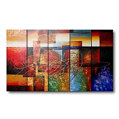 /1107-1532/hand-painted-abstract-oil-painting-with-stretched-frame-set-of-5.jpg