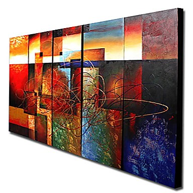 /1107-1533/hand-painted-abstract-oil-painting-with-stretched-frame-set-of-5.jpg