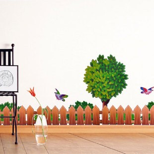 /1113-1553/tree-and-fence-wall-stickers.jpg