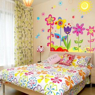 /1119-1579/flowers-and-sun-wall-stickers.jpg