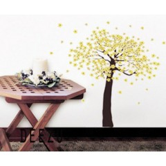 Flower-tree wall stickers