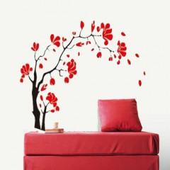 Wintersweet wall stickers