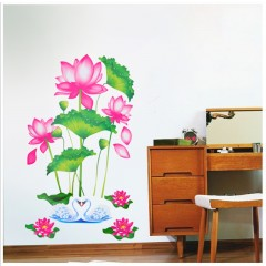 Lotus wall stickers