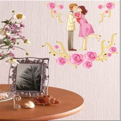 Sweet couples wall stickers