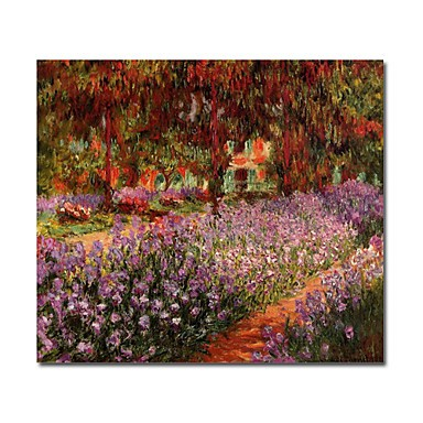 /1250-1807/hand-painted-oil-painting-the-garden-by-claude-monet-with-stretched-frame-24-x-24.jpg