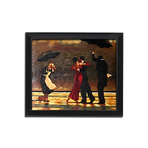 "Framed Hand-painted People Oil Painting with Stretched Frame - 20"" x 24"""