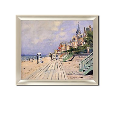 /1291-1848/framed-hand-painted-oil-painting-the-boardwalk-at-trouville-by-claude-monet-with-stretched-frame-20-x-24.jpg