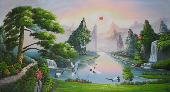 /131-131/landscape-hand-painted-oil-painting-with-stretched-frame-47-x-24.jpg