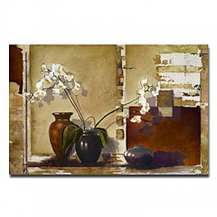 "Hand-painted Still Life Oil Painting with Stretched Frame - 24"" x 36"""