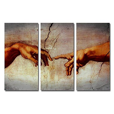 /1352-1909/hand-painted-famous-oil-painting-with-stretched-frame-by-michelangelo-set-of-3.jpg