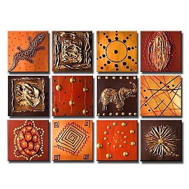 /1354-1911/hand-painted-animal-oil-painting-with-stretched-frame-set-of-12.jpg