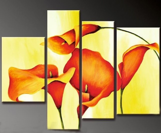/137-144/hand-painted-flower-oil-painting-with-stretched-frame-set-of-4.jpg
