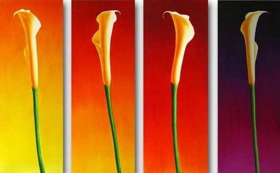 /149-158/hand-painted-flower-oil-painting-with-stretched-frame-set-of-4.jpg
