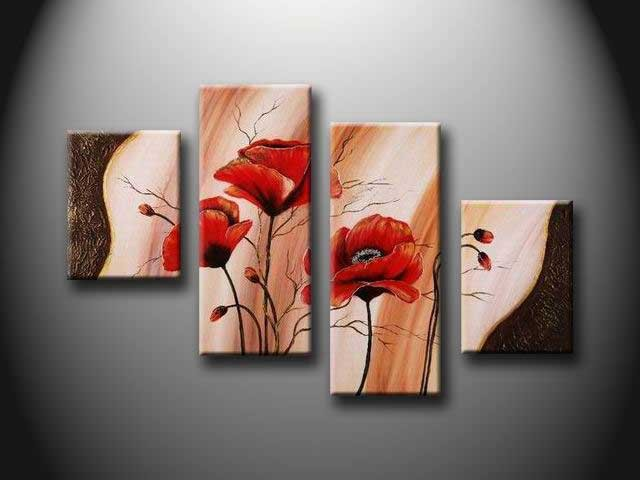 /151-160/hand-painted-flower-oil-painting-with-stretched-frame-set-of-4.jpg