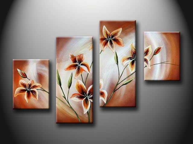 /152-161/hand-painted-flower-oil-painting-with-stretched-frame-set-of-4.jpg