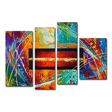 /1545-2102/hand-painted-abstract-oil-painting-with-stretched-frame-set-of-4.jpg