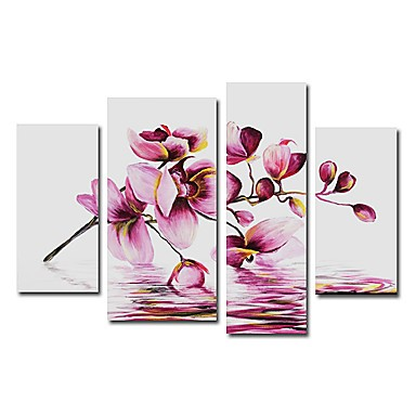 /1546-2103/hand-painted-floral-oil-painting-with-stretched-frame-set-of-4.jpg