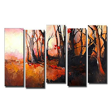 /1552-2109/hand-painted-landscape-oil-painting-with-stretched-frame-set-of-5.jpg