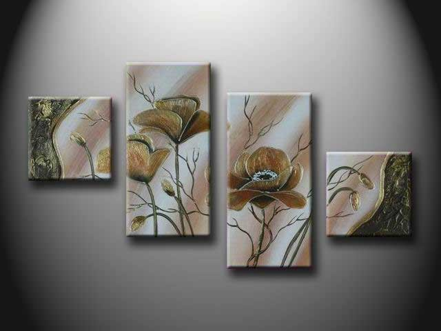 /158-169/hand-painted-flower-oil-painting-with-stretched-frame-set-of-4.jpg