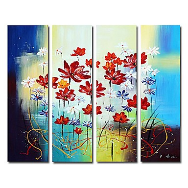 /1606-2163/hand-painted-floral-oil-painting-with-stretched-frame-set-of-4.jpg