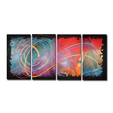 /1692-2249/hand-painted-abstract-oil-painting-with-stretched-frame-set-of-4.jpg