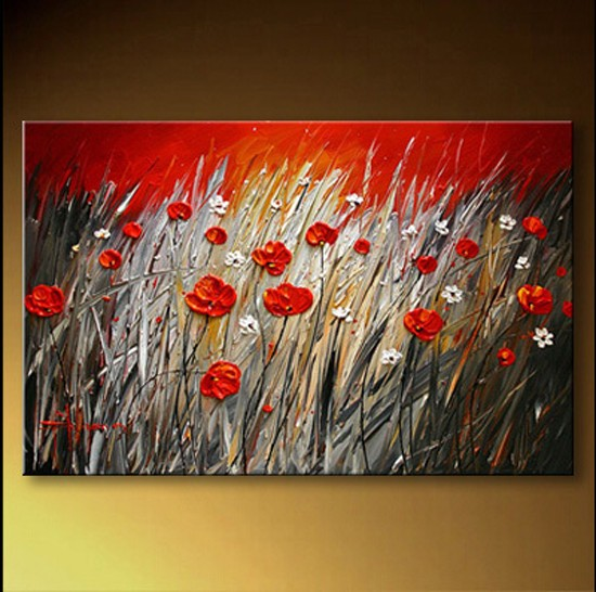 /211-241/hand-painted-flower-oil-painting-with-stretched-frame-16-x-20.jpg