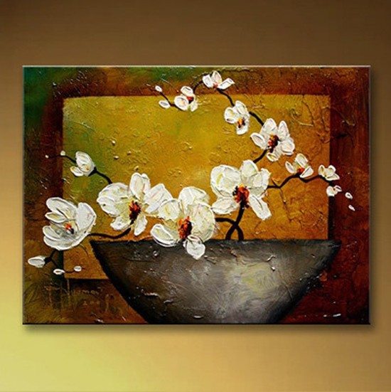 /214-244/hand-painted-flower-oil-painting-with-stretched-frame-16-x-20.jpg