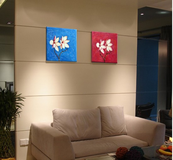 /218-253/hand-painted-flower-oil-painting-with-stretched-frame-set-of-2.jpg