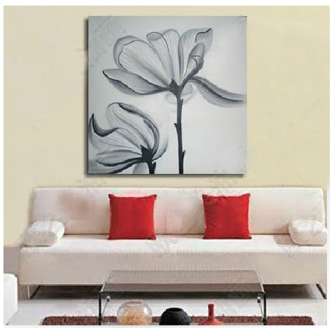 "Hand-painted Flower Oil Painting with Stretched Frame - 20"" x 24"""