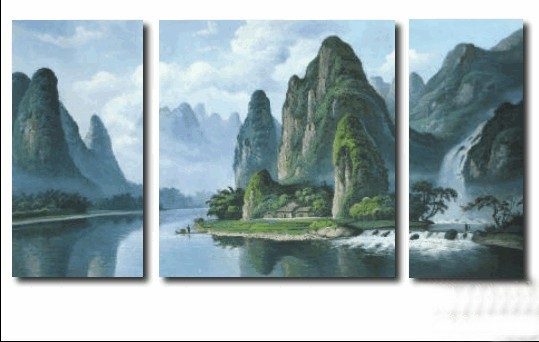 /280-730/hand-painted-landscape-oil-painting-with-stretched-frame-set-of-3.jpg