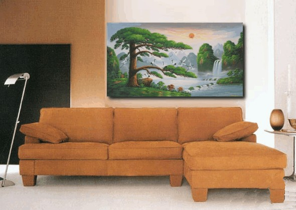 Hand Painted Landscape Oil Painting