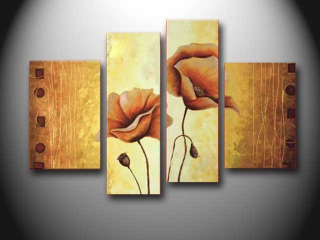 /314-374/hand-painted-flower-oil-painting-with-stretched-frame-set-of-4.jpg