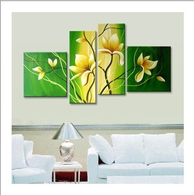 /323-383/flower-hand-painted-oil-painting-with-stretched-frame-set-of-4.jpg