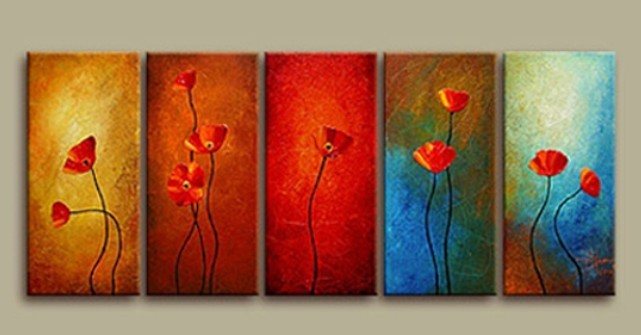 /343-407/abstract-hand-painted-oil-painting-with-stretched-frame-set-of-5.jpg