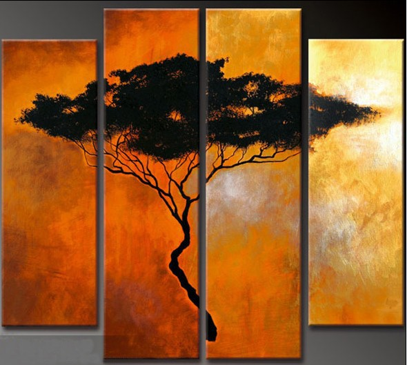 /358-423/hand-painted-abstract-oil-painting-with-stretched-frame-set-of-4.jpg
