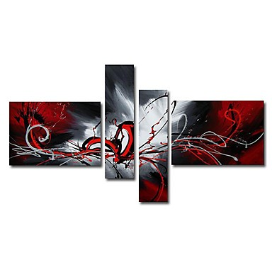 /387-453/abstract-hand-painted-oil-painting-with-stretched-frame-set-of-4.jpg