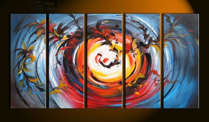 /393-464/hand-painted-abstract-oil-painting-with-stretched-frame-set-of-5.jpg