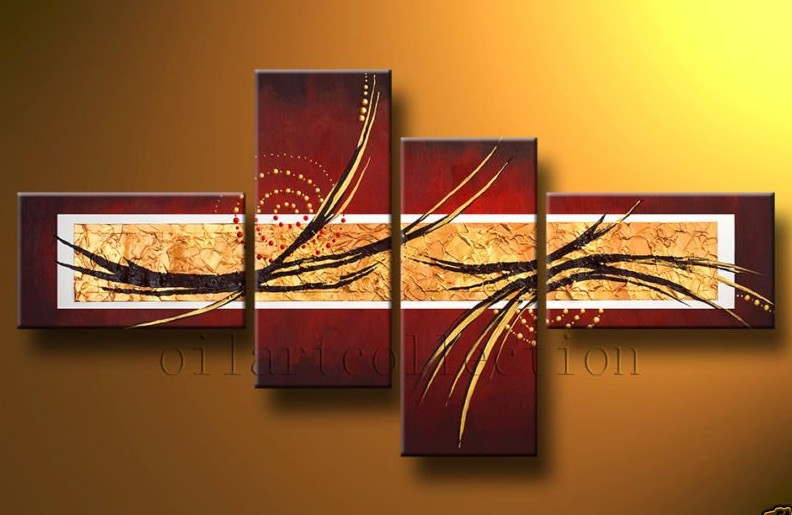 /409-489/hand-painted-abstract-oil-painting-with-stretched-frame-set-of-4.jpg