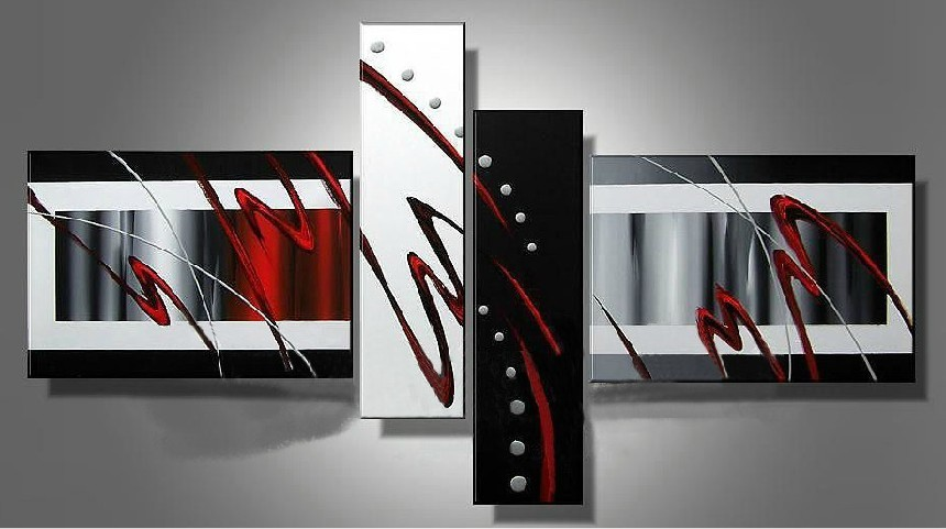 /410-490/hand-painted-abstract-oil-painting-with-stretched-frame-set-of-4.jpg