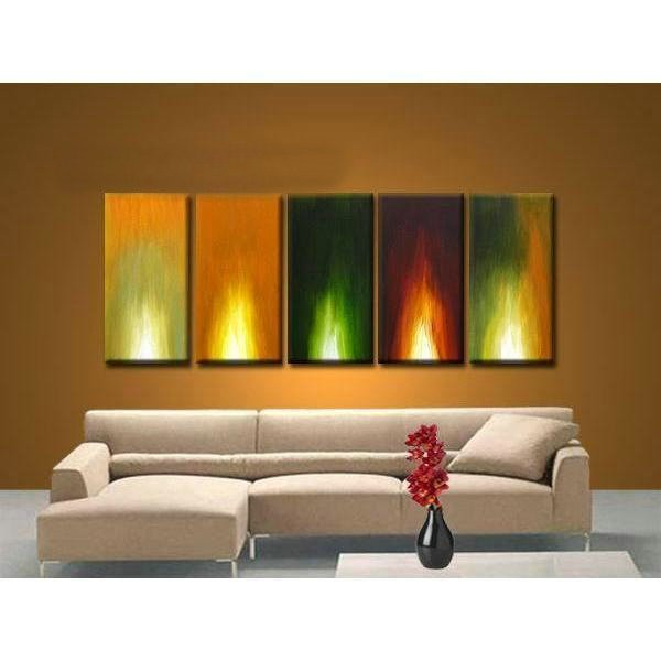 /418-499/abstract-hand-painted-oil-painting-with-stretched-frame-set-of-5.jpg