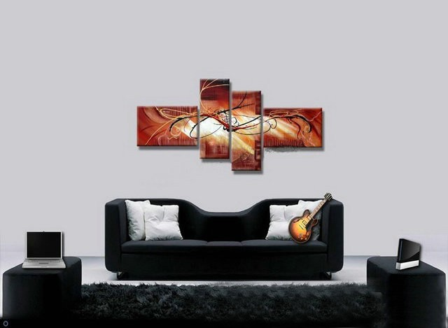 /422-505/hand-painted-abstract-oil-painting-with-stretched-frame-set-of-4.jpg