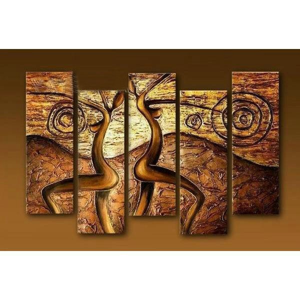 /429-515/abstract-hand-painted-oil-painting-with-stretched-frame-set-of-5.jpg