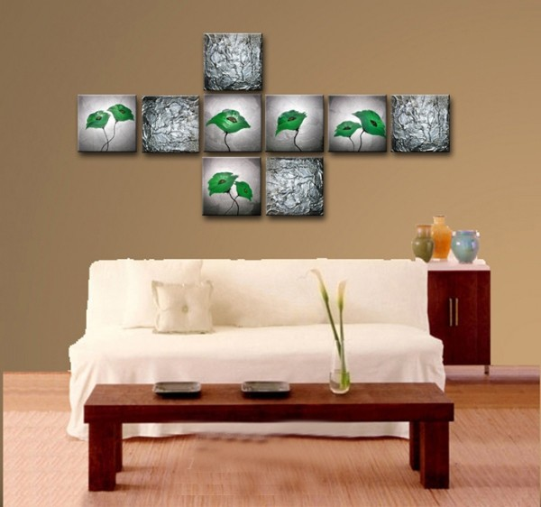 /432-518/flower-hand-painted-oil-painting-with-stretched-frame-set-of-9.jpg