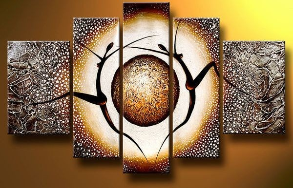 /437-523/abstract-hand-painted-oil-painting-with-stretched-frame-set-of-5.jpg