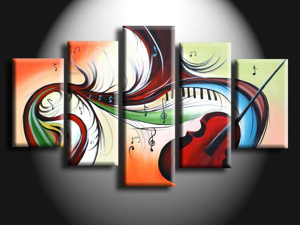 /461-551/hand-painted-abstract-oil-painting-with-stretched-frame-set-of-5.jpg