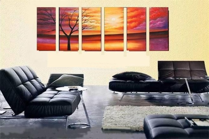 /499-597/hand-painted-tree-oil-painting-with-stretched-frame-set-of-6.jpg